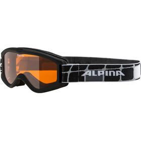 Alpina Carvy 2.0 goggles Kinderen zwart